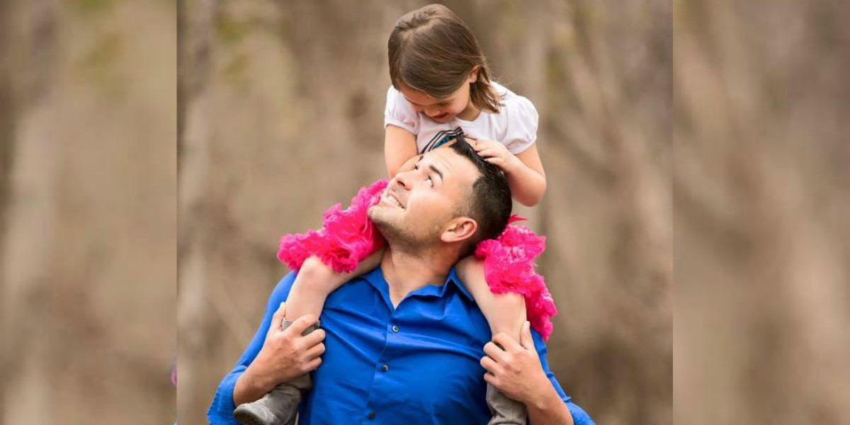 Stuttering Veteran Finds Relief During Special Time With His Daughter